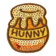 Disney Winnie the Pooh Minoda sequin embroidery Dekoshiru DISNEY POOHS HONEY POT D01R8822