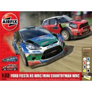Kit constructie si pictura Ford Fiesta WRC si Mini Countryman