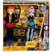 Mattel Poupées Monster high duo Abbey et Heath