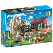 Bergbeklimmers met berghut Playmobil