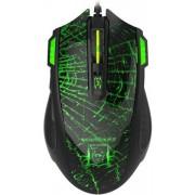 Mouse Gaming Newmen G364 (Negru/Verde)