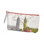 London Big Ben Handmade Pouch by Galison