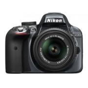 Nikon D3300 + 18-55 R II szürke tükörreflexes digitális fényképezőgép