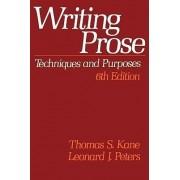 Writing Prose by Thomas S. Kane