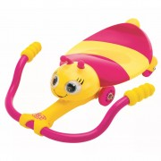 AK Sports Pedal Go Kart Bee Pink and Yellow K02