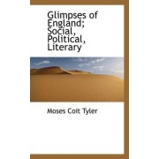 Glimpses of England; Social, Political, Literary by Moses Coit Tyler