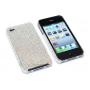 iPhone 4/4S serie Sparkling (Vit)