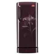 LG 235 L 5 Star Direct-Cool Single Door Refrigerator (GL-D241ASLN.DSLZEBN, Scarlet Lily)