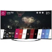 """Televizor LED LG 165 cm (65"""") 65EC970V, Ultra HD 4K, Smart TV, WiFi, 3D, CI + Lantisor placat cu aur si pandantiv in forma de inel gravat"""