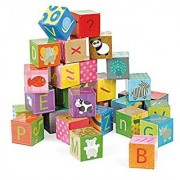 Janod Kubkid Alphabet Blocks