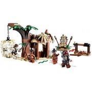LEGO Piratas del Caribe 4182 - La Huída del Poblado Caníbal