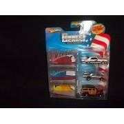 Connect Cars Hot Wheels Starter Set Michigan Pennsylvania California with Display Case by Mattel