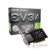 Placa video EVGA nVidia GT 710 2GB DDR3 - 02G-P3-2713-KR