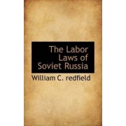 The Labor Laws of Soviet Russia by William C Redfield