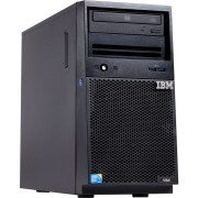 Server IBM x3100 M5 (Procesor Intel® Xeon® E3-1220 v3 (8M Cache, 3.10 GHz), Haswell, 1x8GB @1600MHz, HDD 1x1TB @7200rpm, SATA, RAID C100 (RAID 0,1,10), 1x300W PSU)