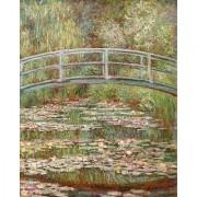 Artifact Puzzles - Monet Bridge Wooden Jigsaw Puzzle