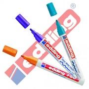 Edding 750 - Rotulador (& Creative brillo Marcador 3 Paquete ahorro, 10 colores & surtidos para elegir., color Sortiert Zusatzfarben 2