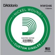 D'Addario - NW046 Nickel Wound Einzelsaite