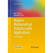 Modern Mathematical Statistics with Applications by Jay L. Devore