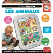 Educa Borras Jeu Educatif - Touch Baby Découvre Les Animaux