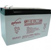 GENESIS NP7-12 acumulator VRLA AGM 12V - 7Ah UPS