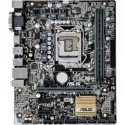 Дънна платка ASUS H110M-PLUS, Intel LGA 1151, DDR4, PCI Express, ASUS-MB-H110M-PLUS