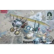 Roden Sopwith F.1 Camel British Biplane Fighter Airplane Model Kit by Roden
