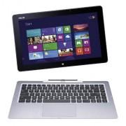 Asus Transformer Book T300LA-C4007P, Notebook Convertibile in Tablet, Processore Intel® CoreTM i7, Display 13.3 Pollici FullHD, TouchScreen, RAM 4 GB, SSD 128 GB, Doppia WebCam, Windows 8 Pro, Argento/Antracite