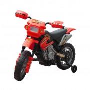 Vidaxl Moto Électrique Pour Enfants Rouge