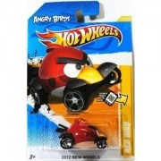 Toy / Game Angry Birds Red Bird Hot Wheels 2012 New Models Series #47/50 1:64 Scale Collectible Die Cast Car