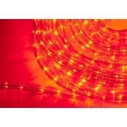 LED Svetelný had, 1m, červená, 220V