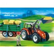 Playmobil Tractor Moderno con Remolque