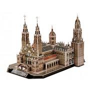 CubicFun 3D Puzzle 101 Pieces: Cathedral of Santiago Spain