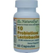 Probioticos 10 c/60 capsulas 20 Mil Millones