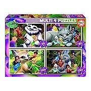 Educa 16350 Multi 4-Fairies Jigsaw Puzzle