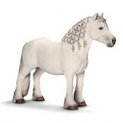 Schleich 13739 Fell Pony Stallion Figurine, White