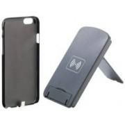 Callstel Support smartphone à induction avec coque chargeur Qi pour iPhone 6
