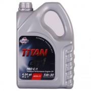 Fuchs Titan GT1 Pro C-1 5W-30 4 Litres Jerrycans