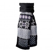 Mike Scarf (black) - wzór norweski