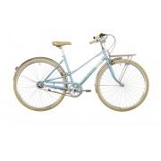 Creme Caferacer Solo Bicicletta da città Donne 3-speed blu 55 cm City bike