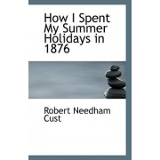 How I Spent My Summer Holidays in 1876 by Robert Needham Cust