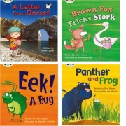 Learn to Read at Home with Phonics Bug: Pack 5 (Pack of 4 Reading Books with 3 Fiction and 1 Non-Fiction) by Emma Lynch