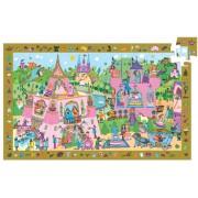 Пъзел Принцеса от 54 части Djeco Discovery Puzzle