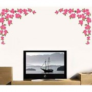 Walltola Wall Decal - Love Flowers For Background 57108 (Dimensions 150x70cm)