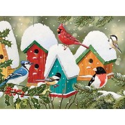 SunsOut Winter Village Jigsaw Puzzle (1000-Piece)