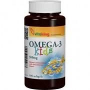 Vitaking Omega-3 Kids gélkapszula - 100 db kapszula