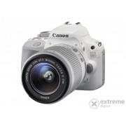 Kit aparat foto digital Canon EOS 100D (cu obiectiv EF 18-55 mm IS STM), alb + minge fotbal Nike