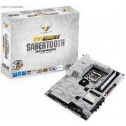 Asus Z97 Sabertooth MarkS arctic-camouflaged TUF White Edition Z97 chipset LGA 1150 Motherboard