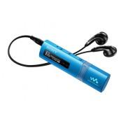 MP3 Player, Sony NWZ-B183F, 4GB, Quick-Charge, FM tuner, Drag&Drop files, Blue (NWZB183FL.CEW)