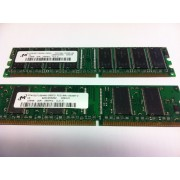 MT - Mémoire - 128 Mo - DIMM 184 broches - DDR - 266 MHz - PC2100